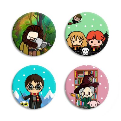 Chapas Harry Potter