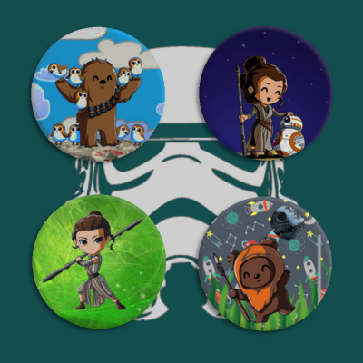 Chapas Star Wars
