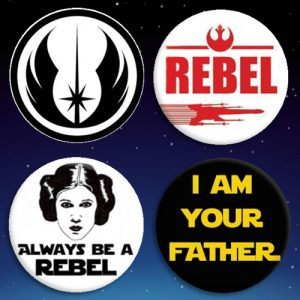 Chapas de Star Wars