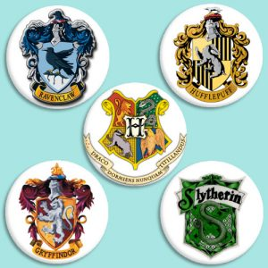 Chapas Casas Harry Potter