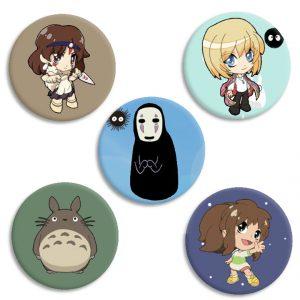 Chapas Anime Totoro