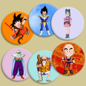Chapas Dragon Ball