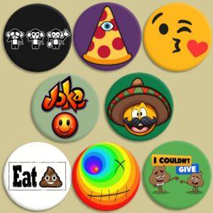 Chapas de emoticonos 2
