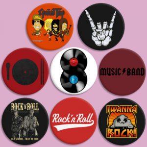 las mejores Chapas de rock