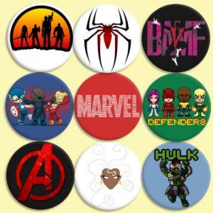 Comprar Chapas Superheroes