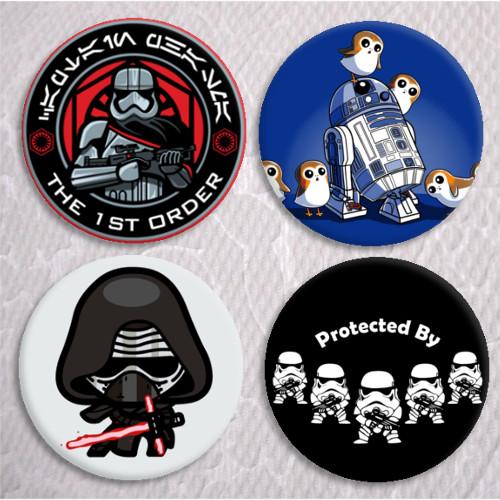 Chapas stormtrooper